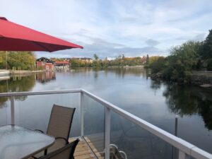 Waterfront Patio at the Bobcaygeon Inn